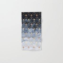 Blue Hexagons And Diamonds Hand & Bath Towel