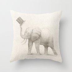 Good Morning (pencil option) Throw Pillow
