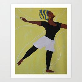 Praise Dancer Art Print
