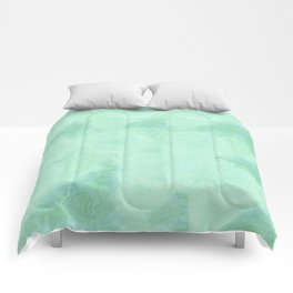 Blue Gray Cotton Fluff Comforters