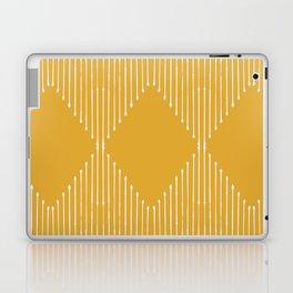 Geo / Yellow Laptop & iPad Skin