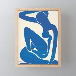 Blue Nude #1- Henri Matisse Framed Mini Art Print