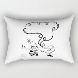 Tea and Marshmallows Rectangular Pillow