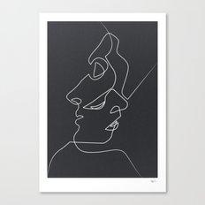 Close Noir Canvas Print