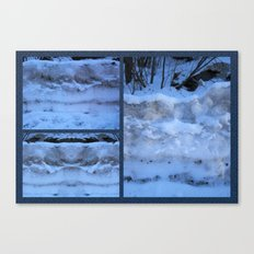 The Geology of Snow Canvas Print