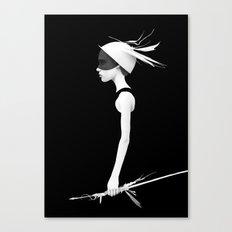 Cas Canvas Print