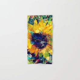 Sunflower Batik Hand & Bath Towel