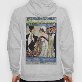 Vintage poster - Budapest Hoody