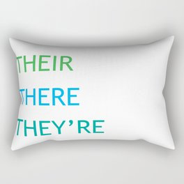 Grammar I Rectangular Pillow