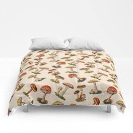 Magical Mushrooms Comforters