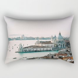 December Sunset, Venice Rectangular Pillow
