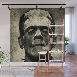 Frankenstein Grunge Wall Mural