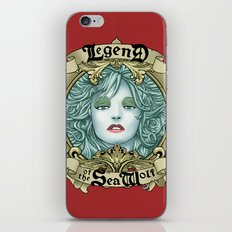 Legend of the Sea Wolf iPhone & iPod Skin