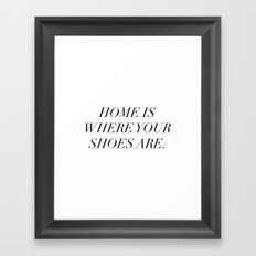 The best things in life are things (sometimes) Framed Art Print