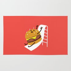 Slider Burger Rug