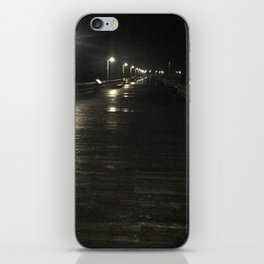 A walk alone iPhone Skin