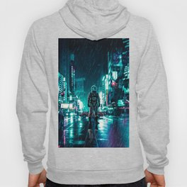 Another Rainy Night ( The Continuous Tale Of The Lost Astronauta) Hoody