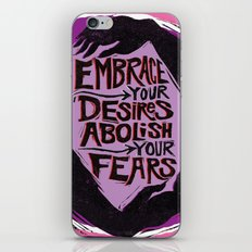 Embrace Your Desires iPhone & iPod Skin