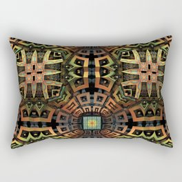 The Undiscovered Tribe Rectangular Pillow