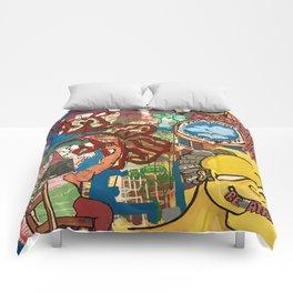 BE AFRAID Comforters