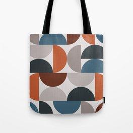 Mid Century Modern Geometric 25 Tote Bag