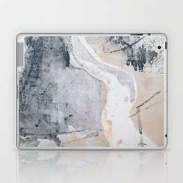 As Restless as the Sea: a minimal abstract painting by Alyssa Hamilton Art Laptop & iPad Skin