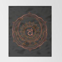 Sacral Chakra Throw Blanket