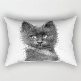 Black Kitten SK135 Rectangular Pillow