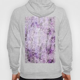 Purple Rock Marble Hoody