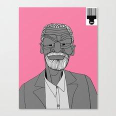 1001 Black Men--#344 Canvas Print