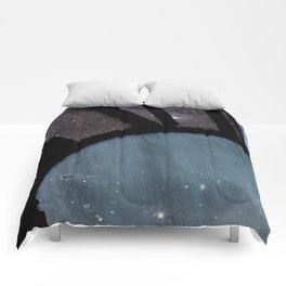 Starry Night - Clock Tower Comforters