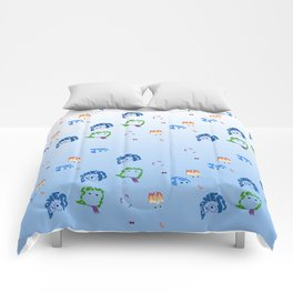 inside out repeat Comforters