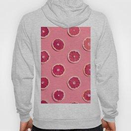 Pink Grapefruit Slices Hoody