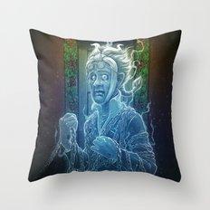 Marley's Christmas Carol Throw Pillow