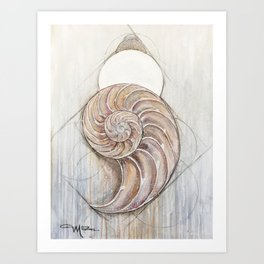 Gifts of the Sea Art Print