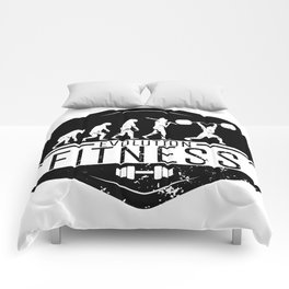 Evolution Fitness | Workout Training Muscles Comforters