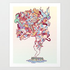 Thick Lucidity Art Print