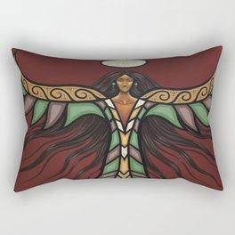 Thunderbird Woman Rectangular Pillow