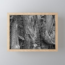 Fishing Nets Framed Mini Art Print
