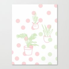 Plants, 2014. Canvas Print