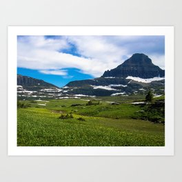 Logans Pass, Glacier National Park Art Print