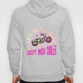I Am A Biker Grandma product Motorcyle Riding Gift For Women Hoody