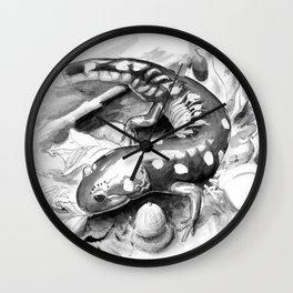 Salamander Study Wall Clock
