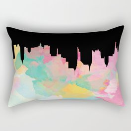 Topsy City Rectangular Pillow