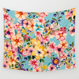 Heavenly BLOOMS Wall Tapestry