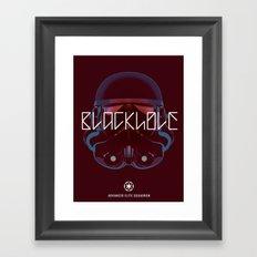 Blackhole Squadron Framed Art Print