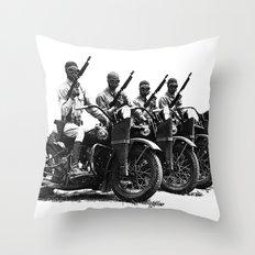Four Horsemen Throw Pillow