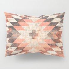 native coral diamond Pillow Sham