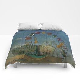 Textured Ferris Wheel Comforters