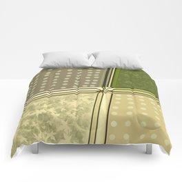 Graphic fields Comforters